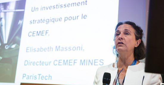 Portrait d'Elisabeth Massoni, Directeur CEMEF
