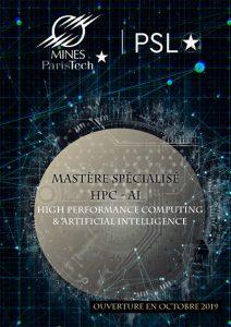 Flyer Mastère Spécialisé HPC-AI
