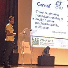 M. Shakoor lauréat du prix scientifique de thèse CSMA 2016