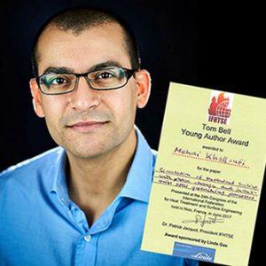 Mehdi Khalloufi, Tom Bell Scientifique Prize Awardee