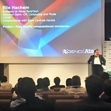 Elie Hachem lauréat du 1er prix Atos Joseph Fourier