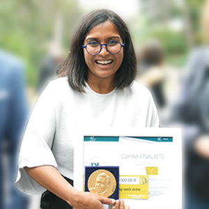 Juhi Sharma, laureate of the Pierre Laffitte Prize 2020